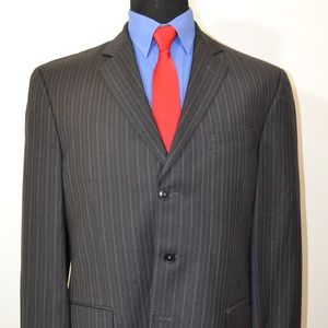 Luigi Bianchi 42R Sport Coat Blazer Suit Jacket Da